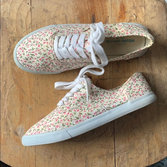 Shoes   Womens Floral Sneakers   Poshmark